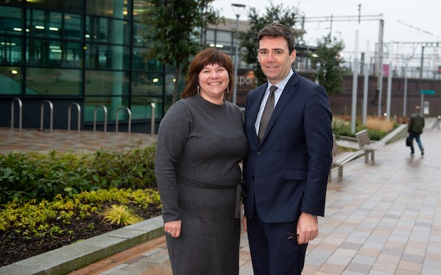 Greater Manchester's Mayor supports Stockport Covid-19 Business Recovery initiative