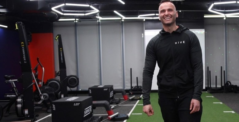 Olympian Andy Turner will challenge Stockport residents online from H1VE fitness studio