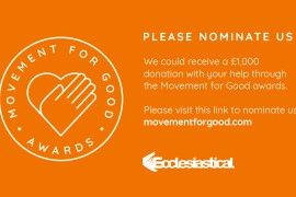 Nominate Supportability for a Movement for Good Award
