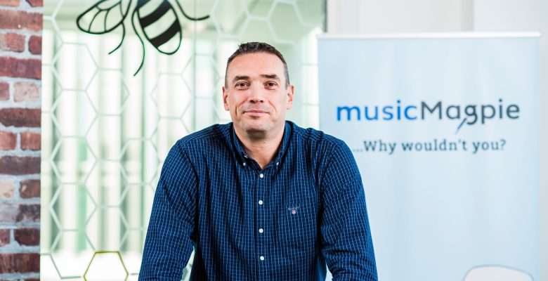 musicMagpie CEO Steve Oliver