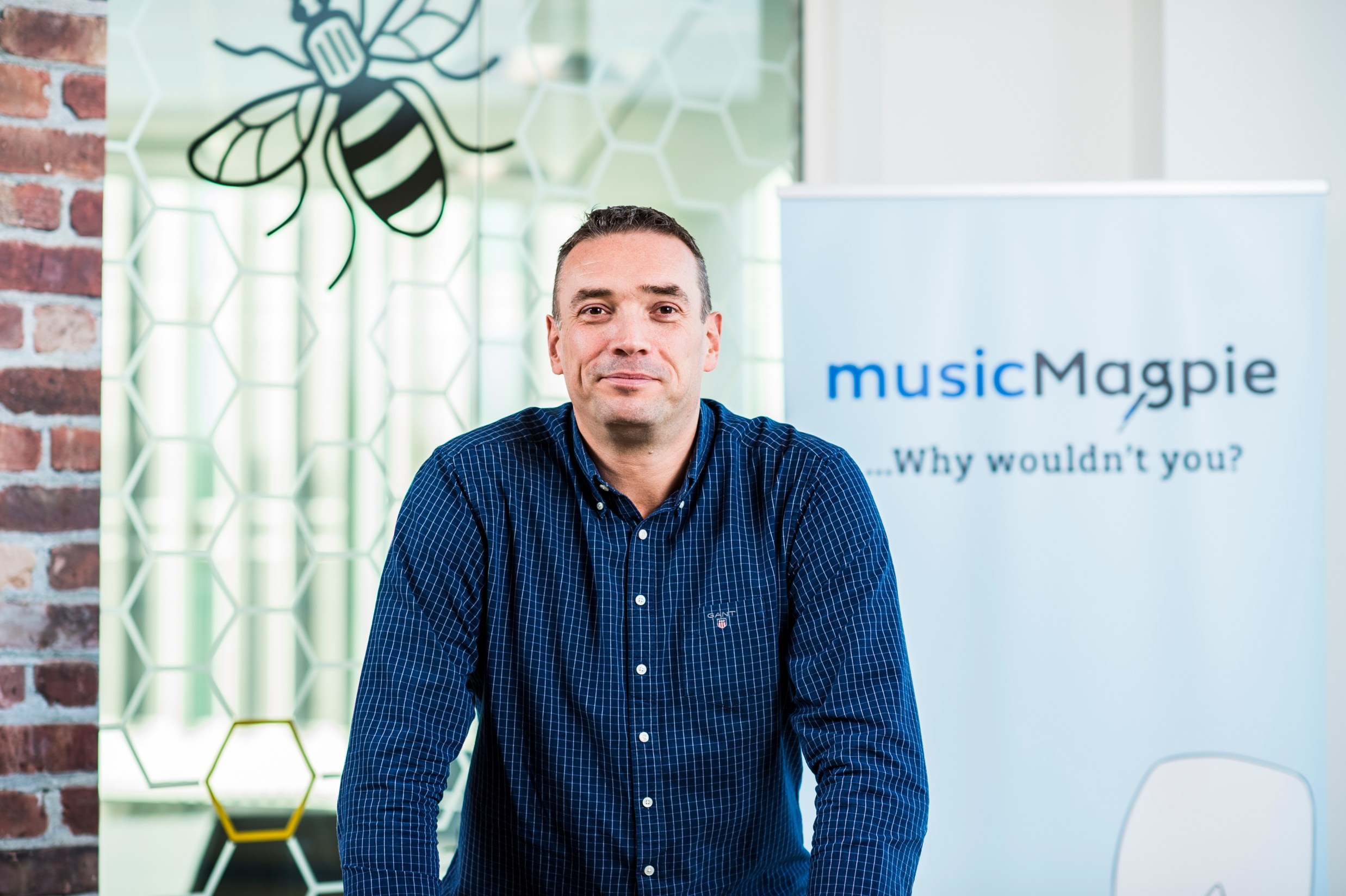 Music Magpie CEO Steve Oliver