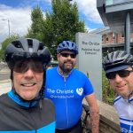 Stockport coach company cycles for The Christie