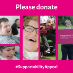 #SupportabilityAppeal from Stockport disability charity Supportability