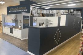 The Range Stockport announces launch of luxury Jonas & James Kitchen Showroom