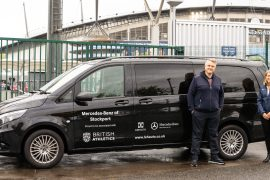 LSH Auto UK named British Athletics official van and car supplier