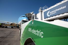 Manchester Airport aims for zero-emission flights