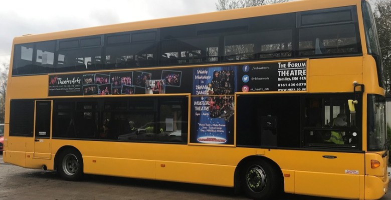 Belle Vue Coaches gets makeover from NK Theatre Arts