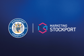 Stockport County join Marketing Stockport as gold members.