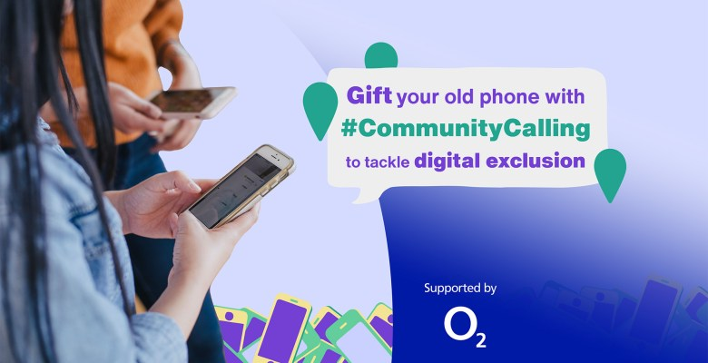 Gift your old phone to digitally excluded with Stockport Council and Hubbub Community Calling