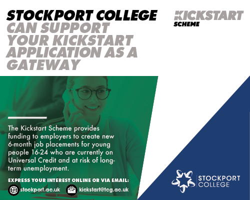 Stockport College Kickstarter