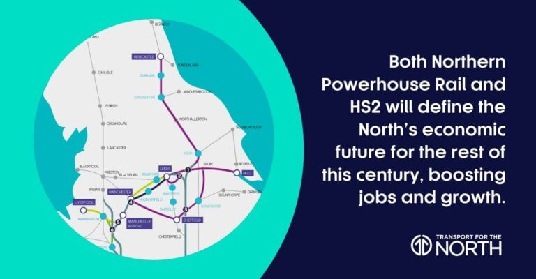 Regional leaders agree preferred Northern Powerhouse Rail route