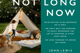 John Lewis Cheadle prepares to welcome back shoppers