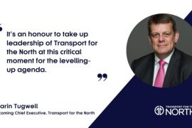 Martin Tugwell new Chief Executive for regional transport body