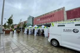 Pop-up vaccination site returns to Stockport town centre this week