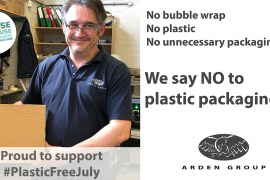 Stockport manufacturer stops using plastic packaging
