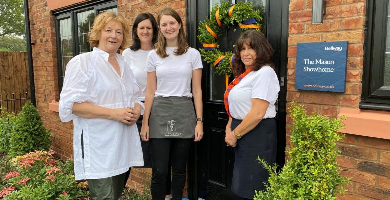 Housebuilder partners with local florist to launch Poynton show homes