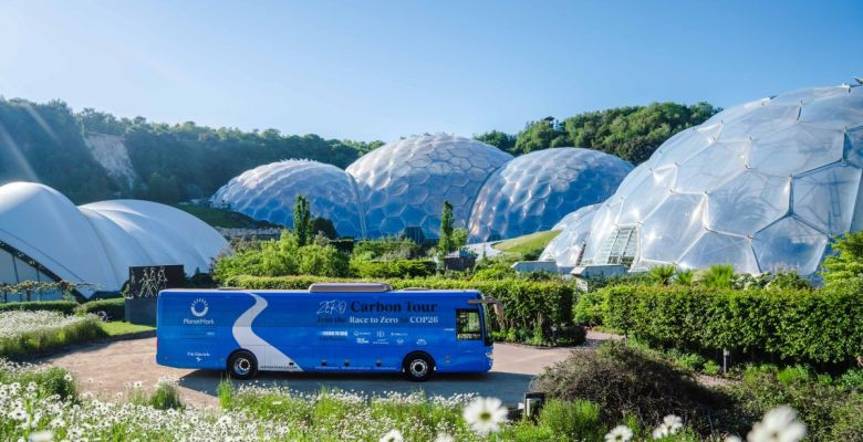 The Planet Mark Carbon Battle Bus will be at the centre of the Sustainability in Action Summit (Photo credit: James Street)