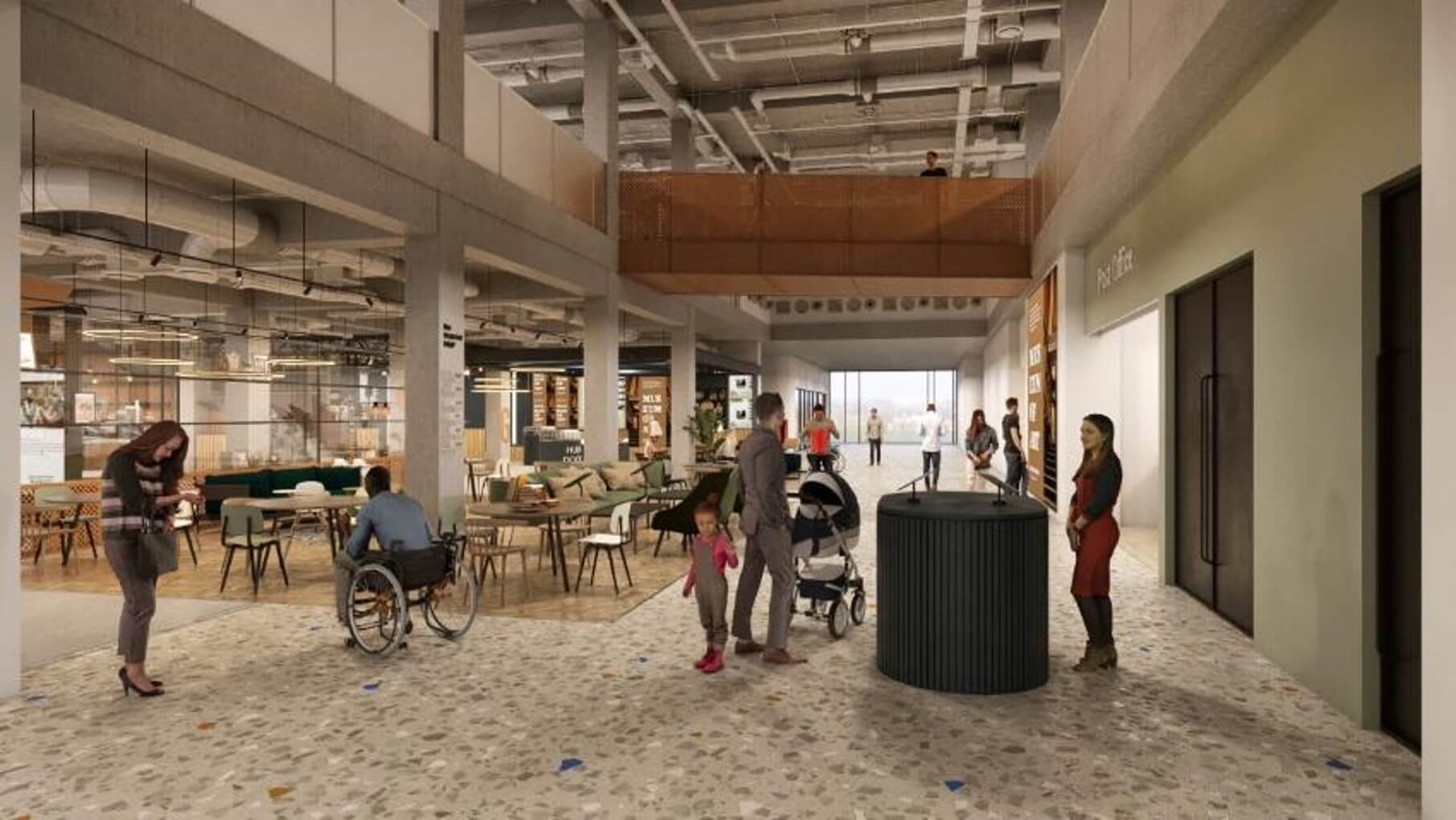Council reveals new images of its vision for the Stockroom learning and discovery space