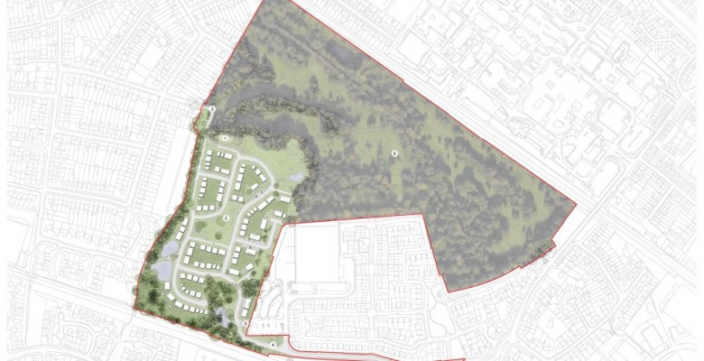 Outline plans submitted for Mirlees Fields housing plans
