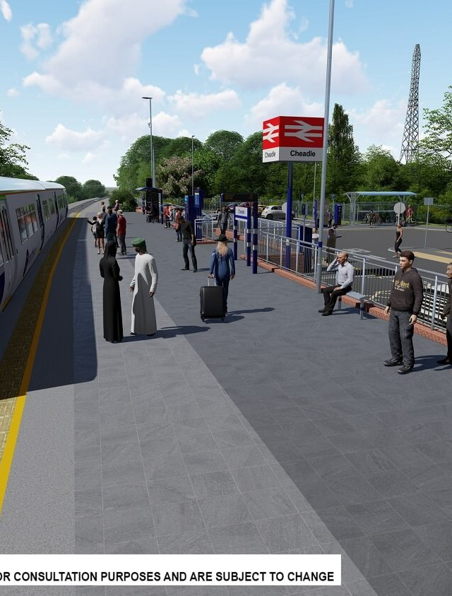 Cheadle station plans move forward as consultation opens on transport links