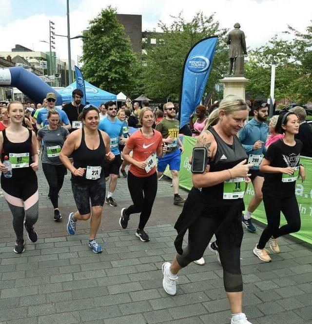 Stockport Urban 5k raises over £4,400 for charity