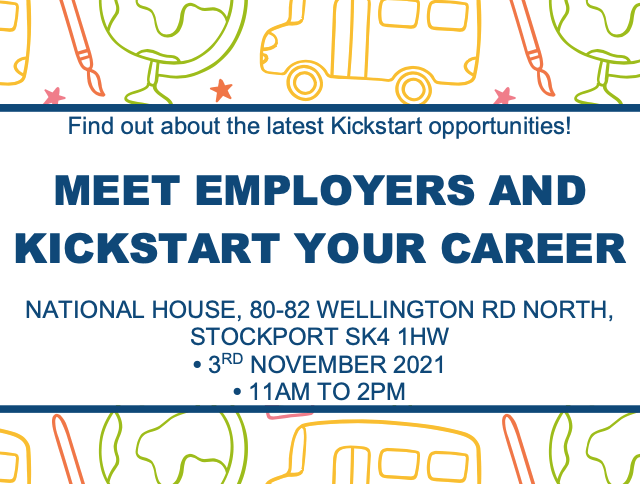 Stockport employers and young people invited to Kickstart jobs fair