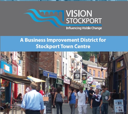 Stockport BID leaflet