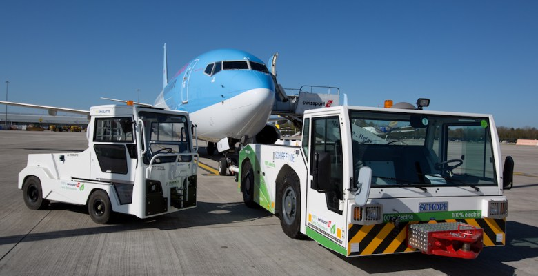 New turnaround equipment reduces carbon emissions at airport
