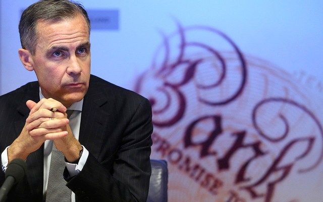 Mark Carney, Governor Bank of England uk interest rates rise to 0.75%