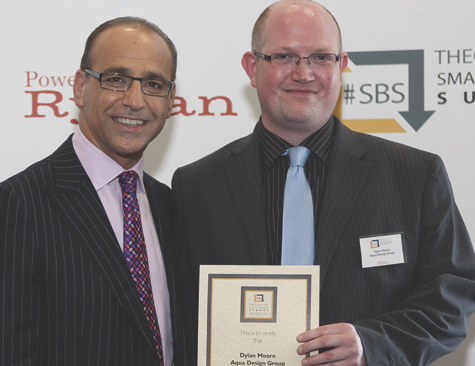 Aqua Design winners of #SBS led to work from Ryman Stationery