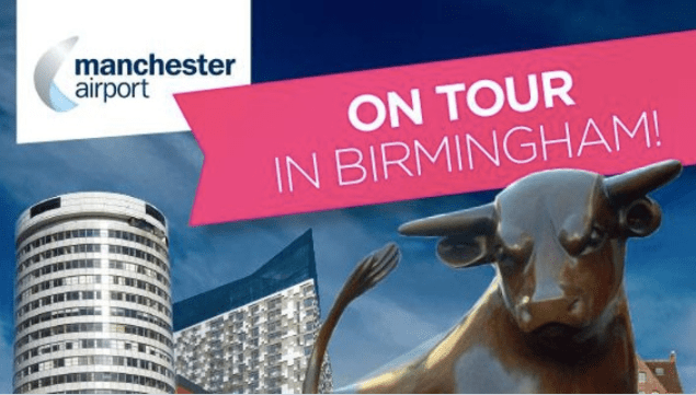 Manchester Airport trade tour takes off in Birmingham