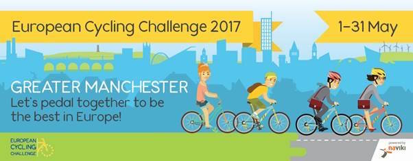Greater Manchester 1st European Cycle Challenge