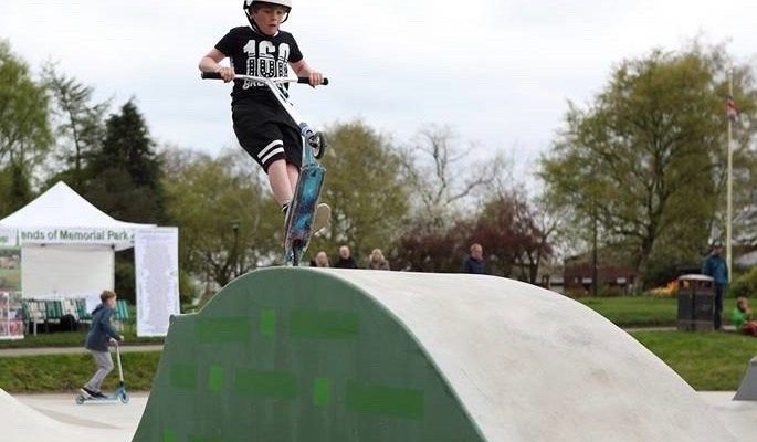 Life Leisure funding for Marple Skatepark