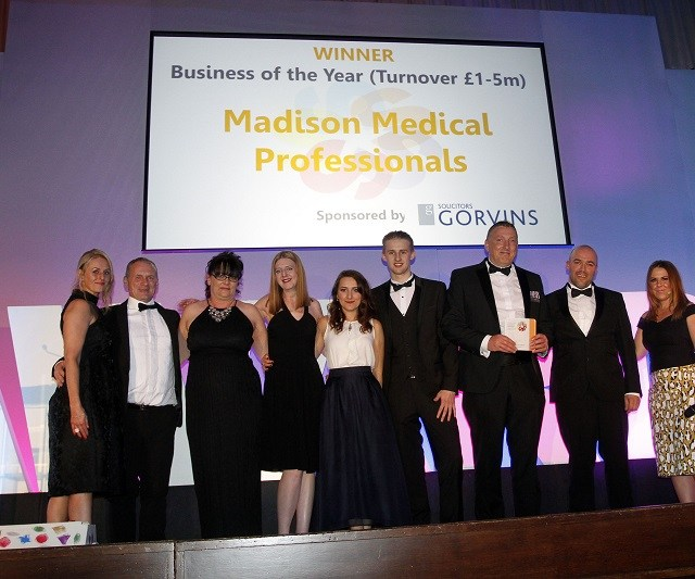 Madison named Business of the year for 2016