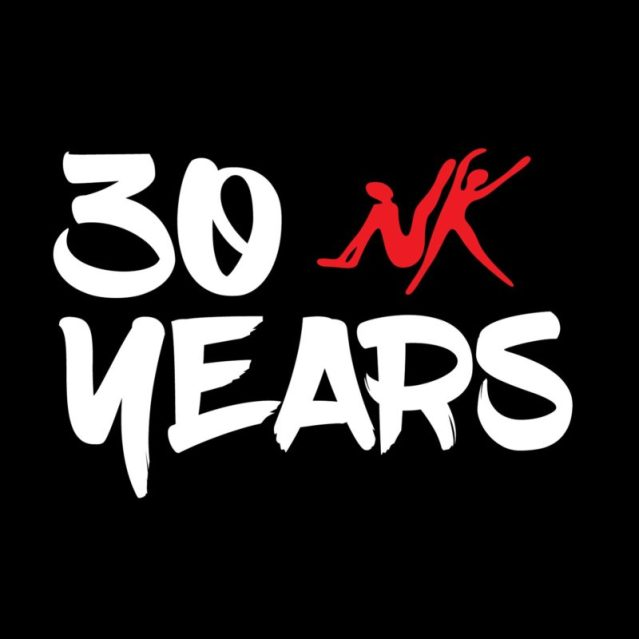 NK celebrates 30 years with a new logo.