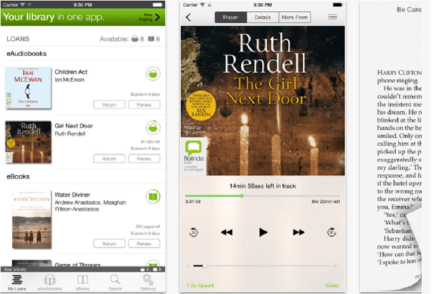 BorrowBox allows access to your library all in one easy app.