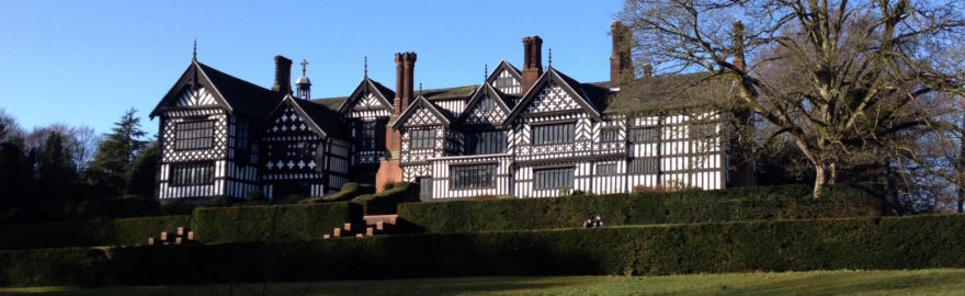 Bramall Hall - where events are taking place over August Bank holiday weekend in Stockport