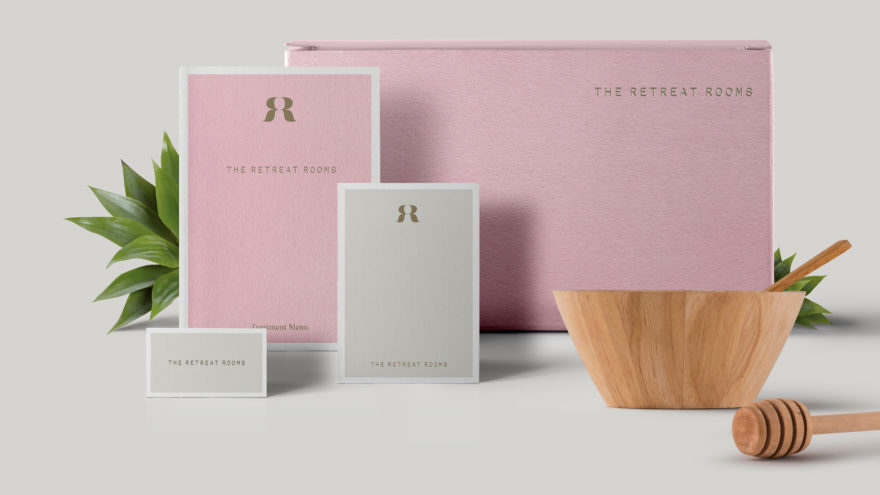 Dawn Creative complete brand re-positioning for The Retreat Rooms