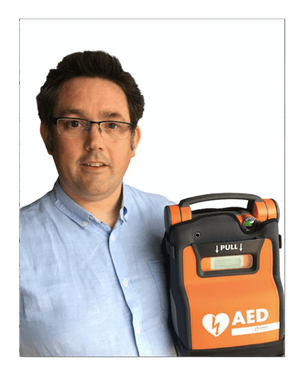 Cardiac Science appoint new area sales manager David Jones