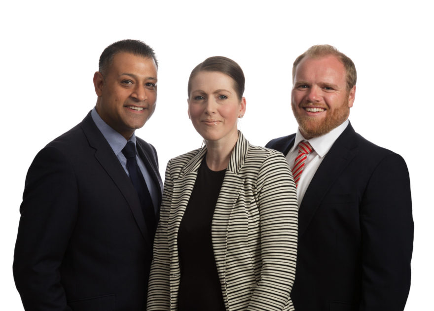 Specialist lender Together appoints (From left to right) Kitt Makwana, Paula Dowson and Chris Timms