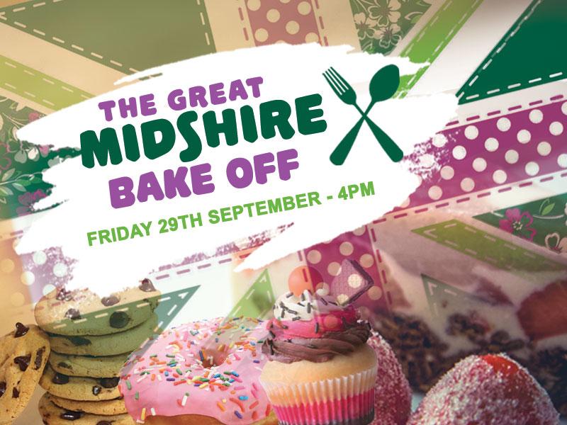 Midshire Macmillan Bake Off