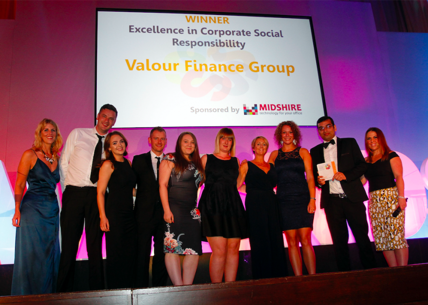 Valor Finance, winners of the 2016 Excellence in CSR award