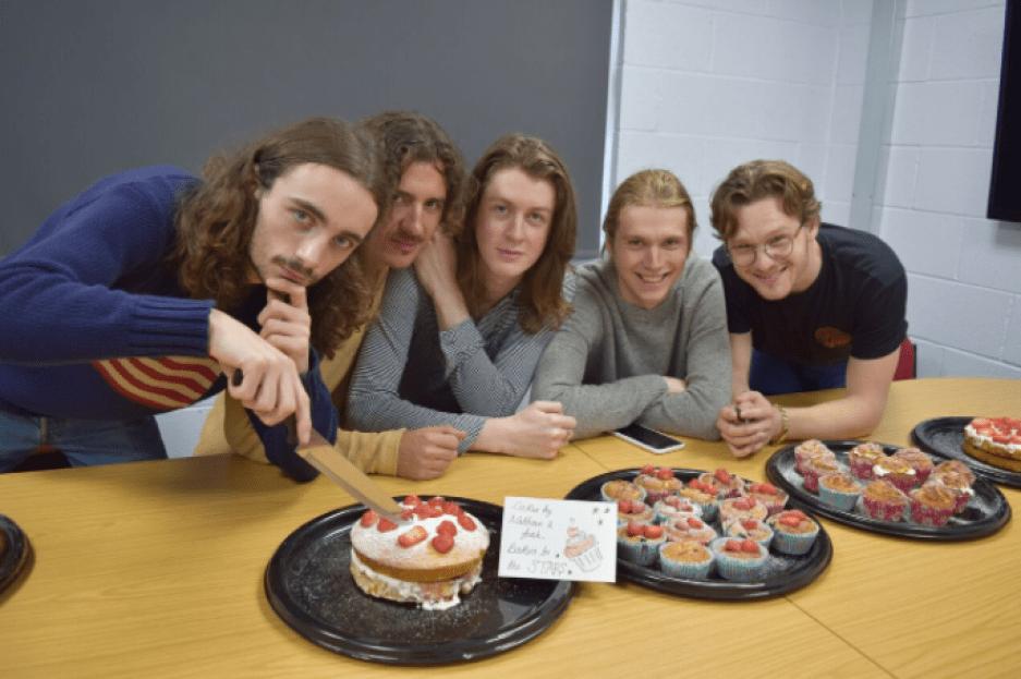 Stockport band Blossoms visit Together Trust