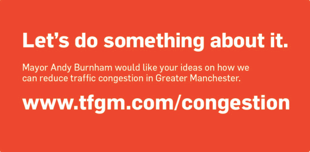 The Greater Manchester Congestion Conversation