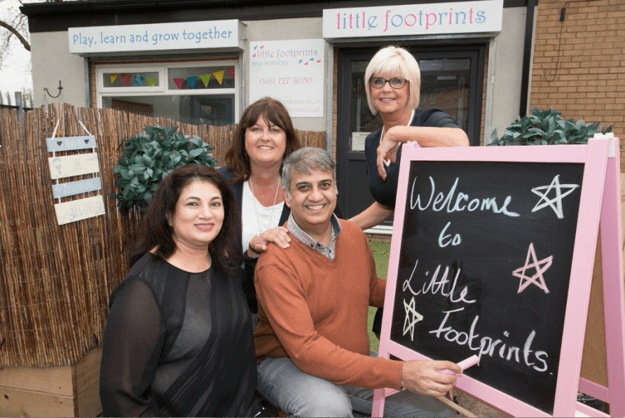 Little Footsteps has opened thanks to RBS funding