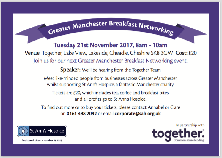 Together to host St Ann's networking event