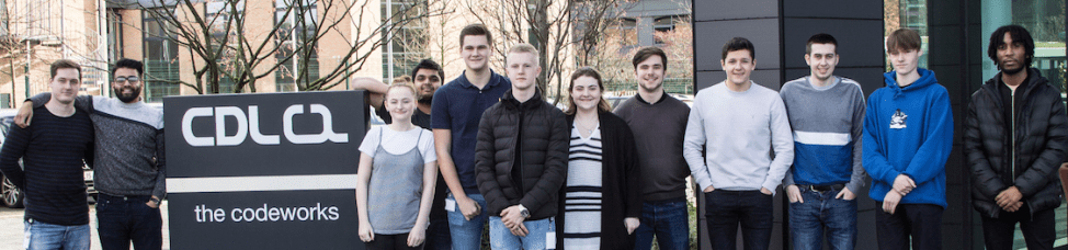 CDL have recruited 14 Apprentices to its new Digital and Technology Degree scheme