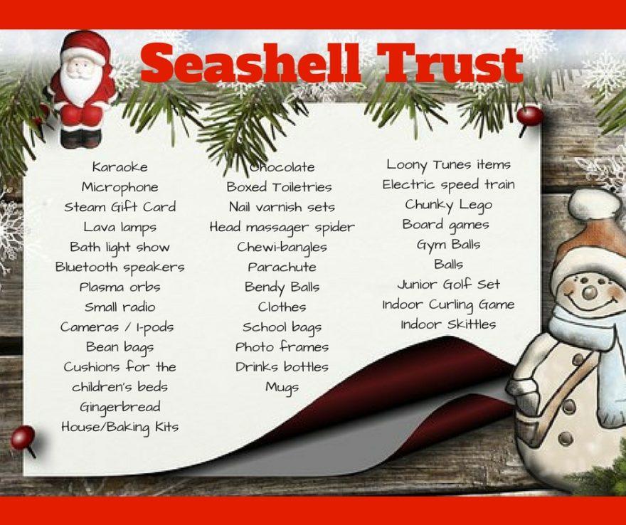 Seashell Trust Christmas