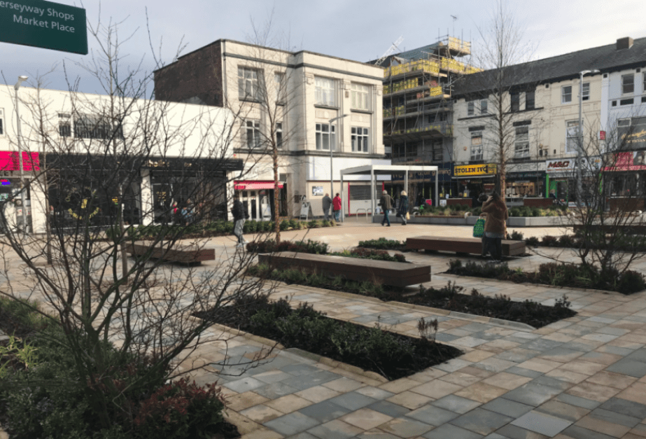 Can you name Stockport's newest Square?