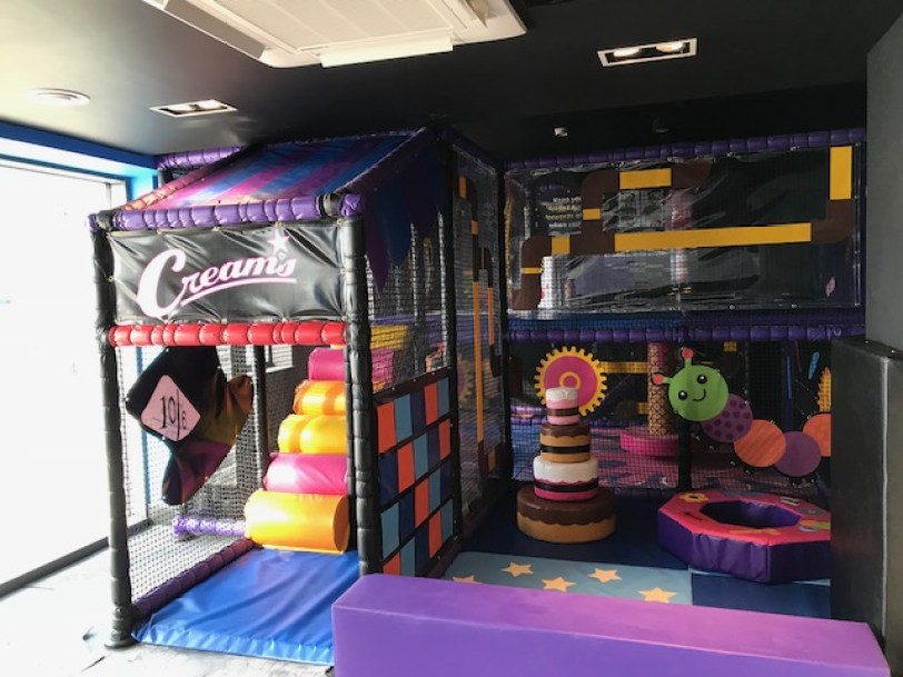 Creams Cafe soft play area